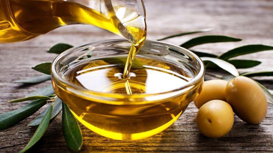Breast lift method using olive oil